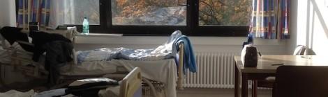Zimmer in der Rehaklinik