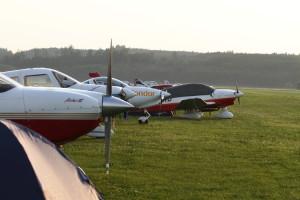 Die TFC-Flotte in Tannheim.