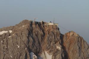 Blick auf die Zugspitze.