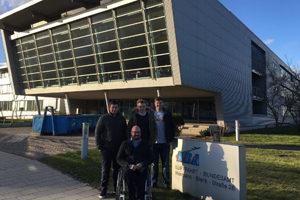 """""""Meine"""" TFC-Gruppe vor dem LBA-Gebäude in Braunschweig"""